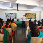 Director Sir Addressing Teachers